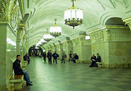 El metro de Moscú es un monumento en sí