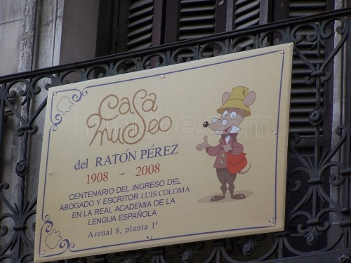 La casa-museo del Ratoncito Pérez