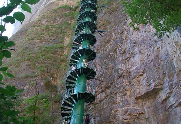 Las escaleras hacia el cielo están en China
