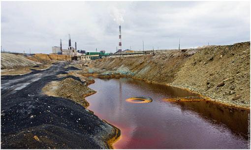 El lugar más contaminado del planeta es... - kara11