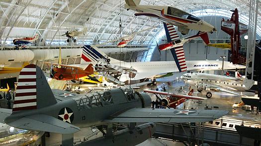 Los 10 mejores museos no dedicados al Arte (I) - dc_air_space_museum1