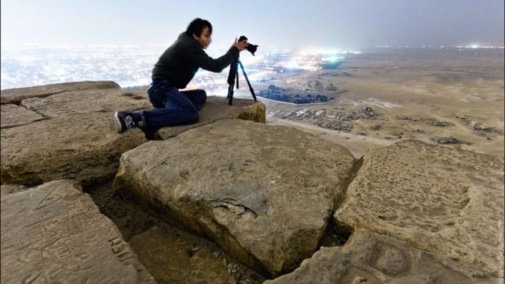 Impresionantes fotografías desde la Gran Pirámide de Guiza, EGIPTO