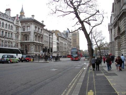 10 calles famosas en Londres - 042508_whitehall011