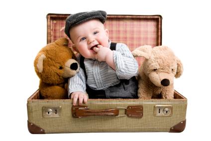 Los mejores sitios para viajar con bebés - viajar-con-bebes1