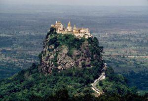 El monte Popa: la residencia de 37 espíritus - monte-popa-5-300x206