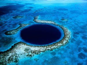 El ojo azul de Belice (no es un poema de amor) - blue-hole-2-300x225