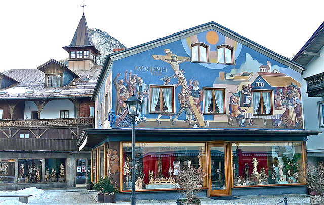 Oberammergau, en la Baviera alemana