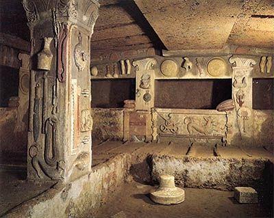 La ciudad etrusca del descanso: Cerveteri
