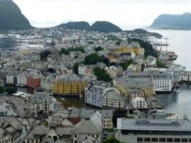 Alesund, Modernismo en los fiordos. - alesund-6-300x225
