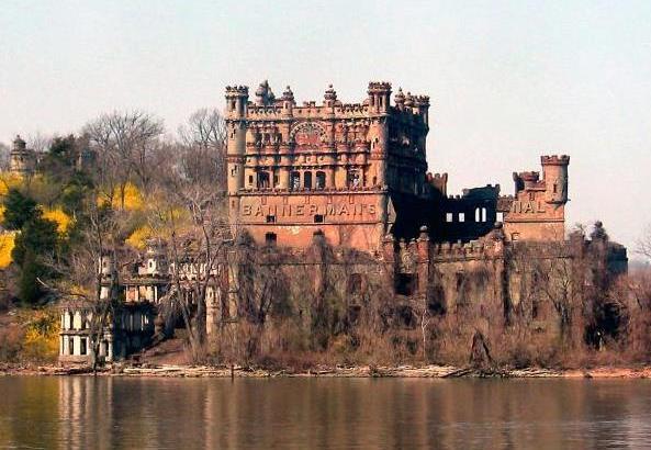 El castillo escocés de Pollepel Island (Nueva York)