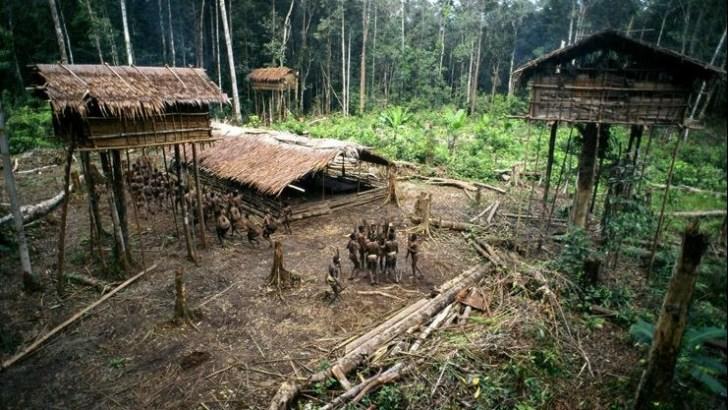 La tribu perdida de los Korowai