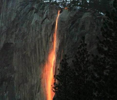 Cascada de Horsetail