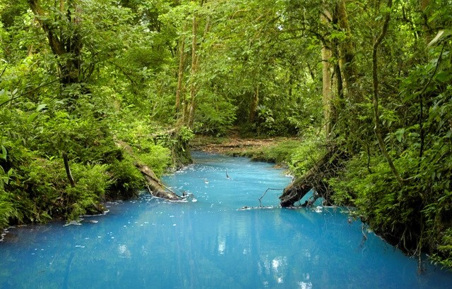 Río Celeste de Costa Rica
