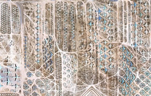Boneyard: Aviones que configuran el paisaje