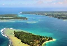 Nusa Island, paraíso del surf y el buceo. - Vista-aérea-300x208