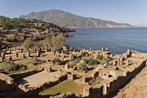 Tipasa , ruinas romanas en la costa africana - Ruinas-de-Tipasa-300x200