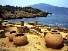 Tipasa , ruinas romanas en la costa africana - Tipasa-300x225