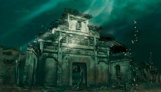 Shi Cheng, la ciudad sumergida bajo el lago de las mil islas