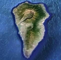 Caldera de Taburiente. (Canarias) - Vista-aerea-300x293
