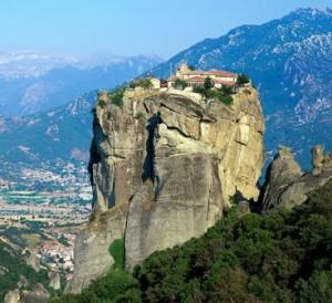 Los monasterios de Meteora (Grecia) - Agia_Triada_Meteora-300x274