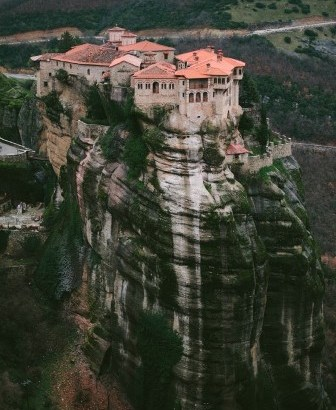 Los monasterios de Meteora (Grecia)