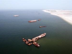 El cementerio de barcos de Nouadhibou - 12_2_0-300x225