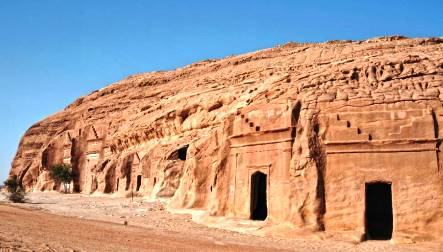 Mada'in Saleh (Arabia Saudí)