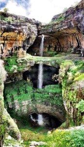 La triple cascada de Baatara - 8-173x300