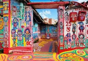 El pueblo del Abuelito Arcoiris - Taichung-Tayvan-Huang-Yung-fu-gokkusagı-rainbow1-300x206