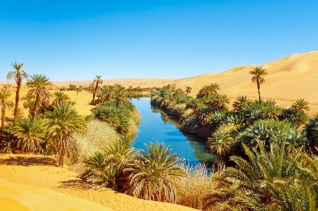 El mar de arena de Ubari (Libia)