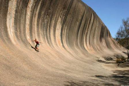 Wave Rock, la ola de piedra