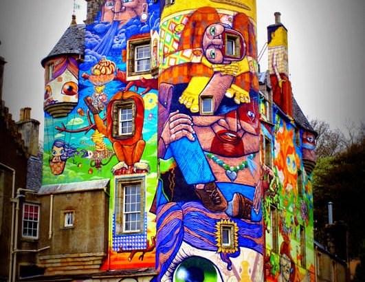 Kelburn: el castillo de los grafitis