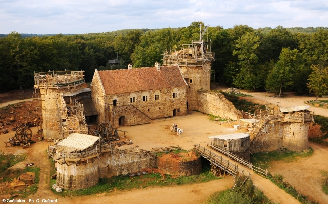 Guédelon: regreso a la Edad Media