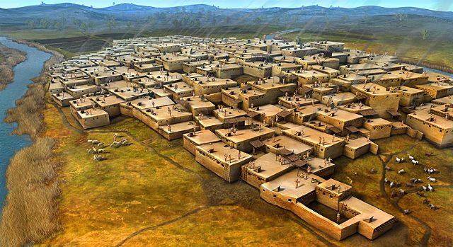 Çatalhöyük, la aldea Neolítica de Anatolia