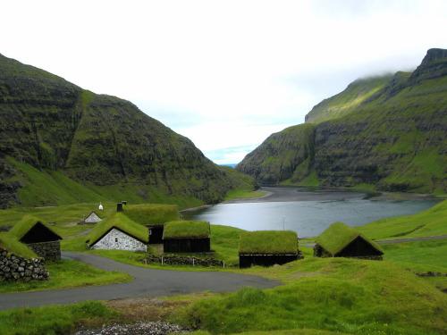 Saksun, la aldea vikinga