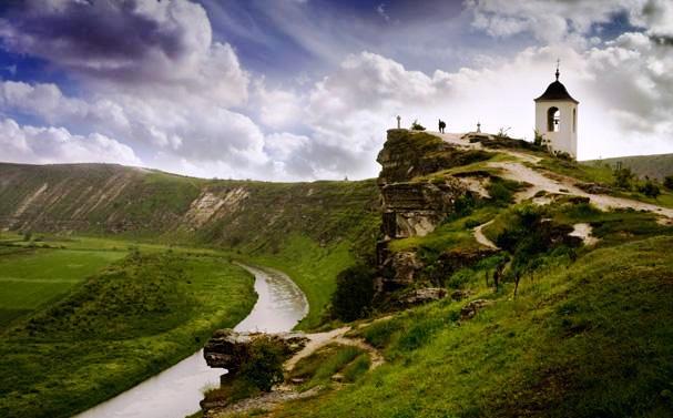 El pueblo medieval de Orhei (Moldavia)