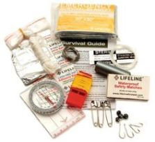Imprescindibles en tu mochila de senderismo - Kit-supervivencia