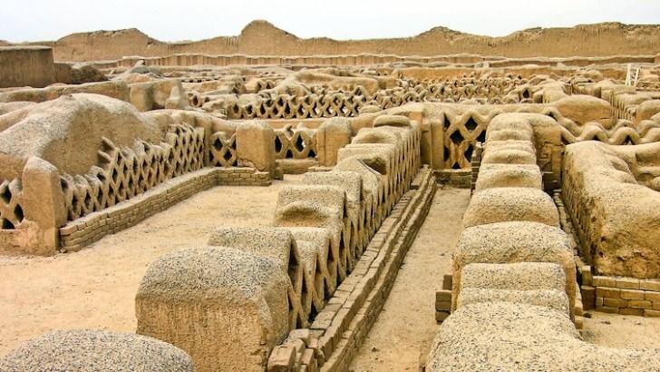 Chan Chan, los palacios del Gran Chimú