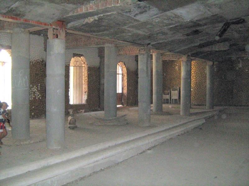 La Catedral de Justo - Interior de la cripta.