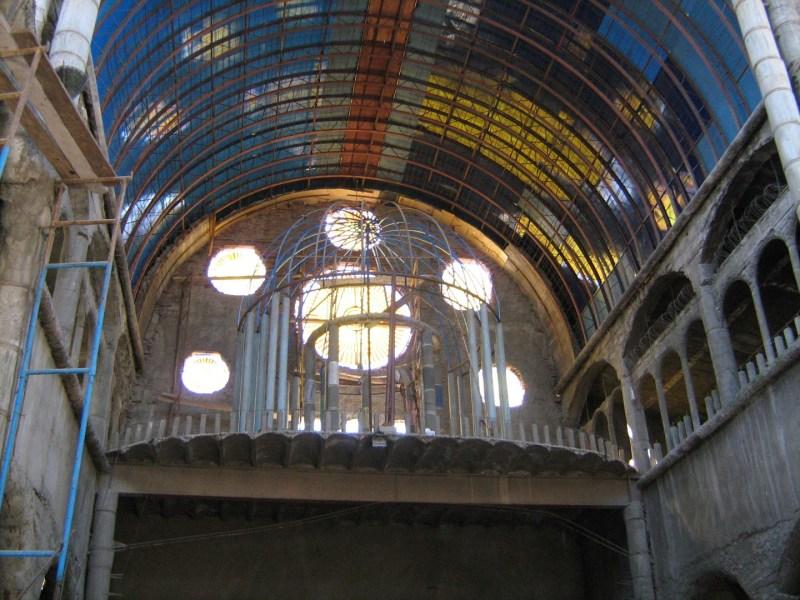 La Catedral de Justo - Parte superior del coro