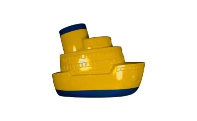 El Oso Verde - Barco de juguete (2).