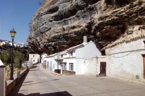 Setenil de las Bodegas - Entrada a la calle Cabrerizas.