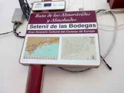 Setenil de las Bodegas - Siete veces tratamos de conquistarla los cristianos sin éxito (septem nihil).