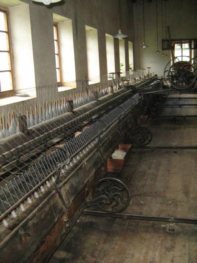 La Fábrica de Lana - Hiladora Mule-Jenny.