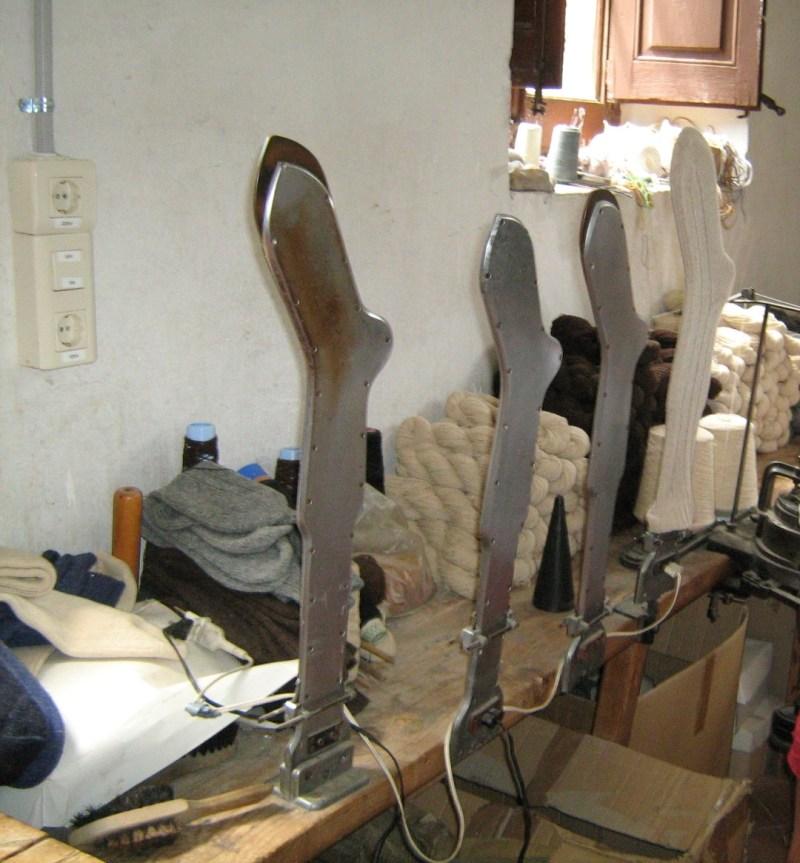 La Fábrica de Lana - Conformadora eléctrica de calcetines
