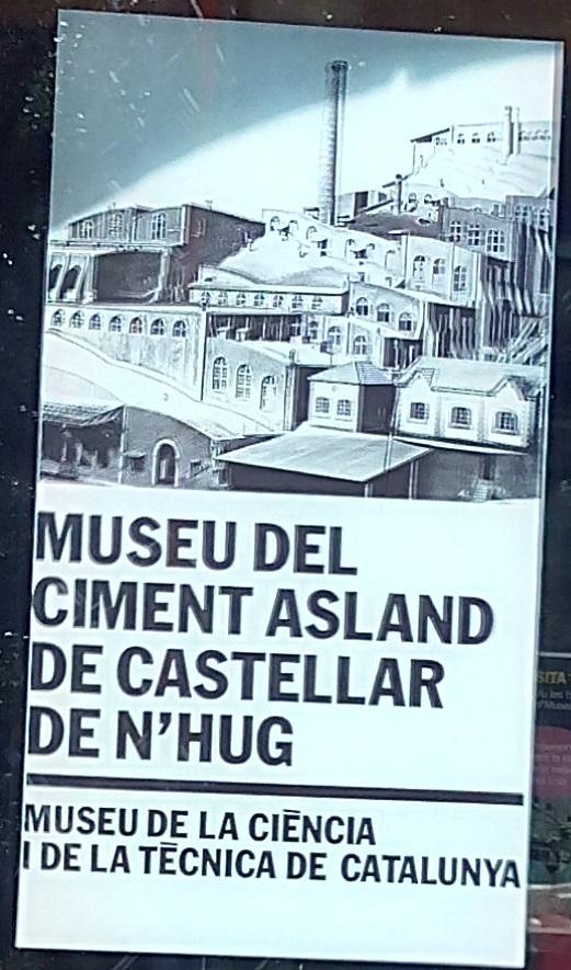 Museo del Cemento Asland - Entrada al Museo