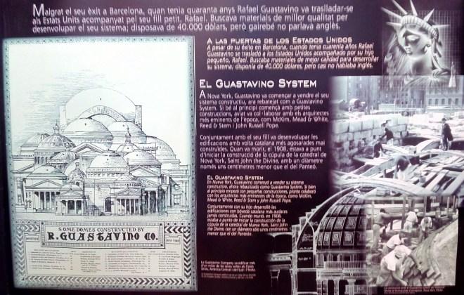 Museo del Cemento Asland - El Guastavino System triunfó en EEUU.
