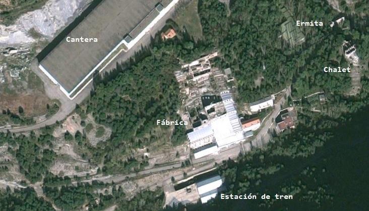 Museo del Cemento Asland - Plano de la zona (10)