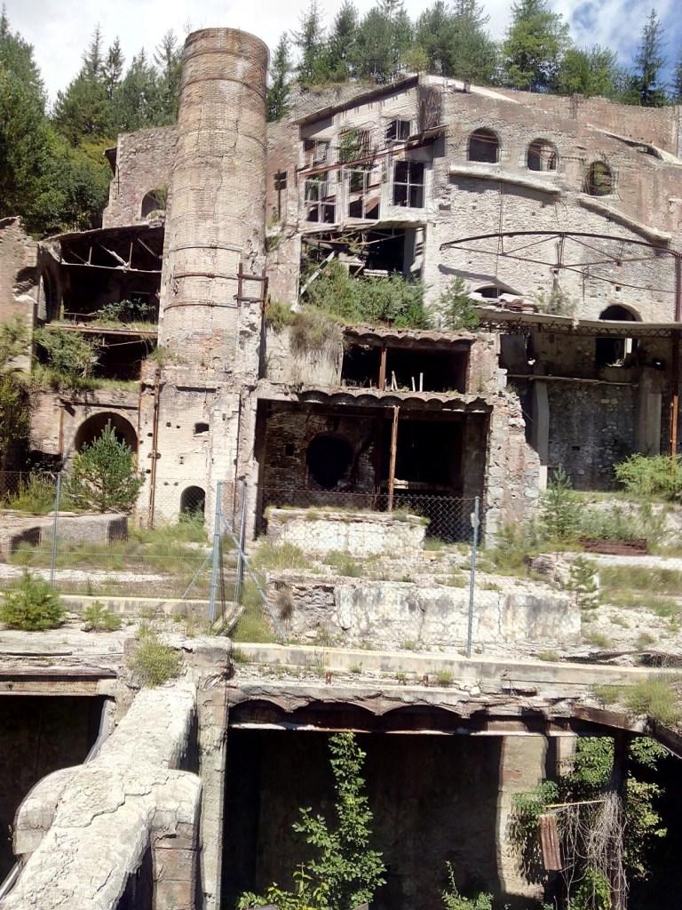 Museo del Cemento Asland - Toda la fábrica estaba abovedada