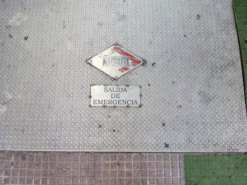 Estación Fantasma de Chamberí - Salida de emergencia